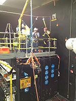 working at heights training at Heightech Safety Systems
